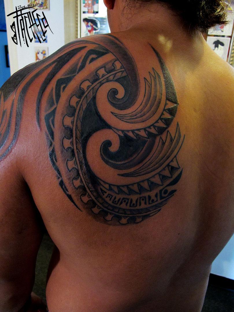 hawaiian dragon tattoo