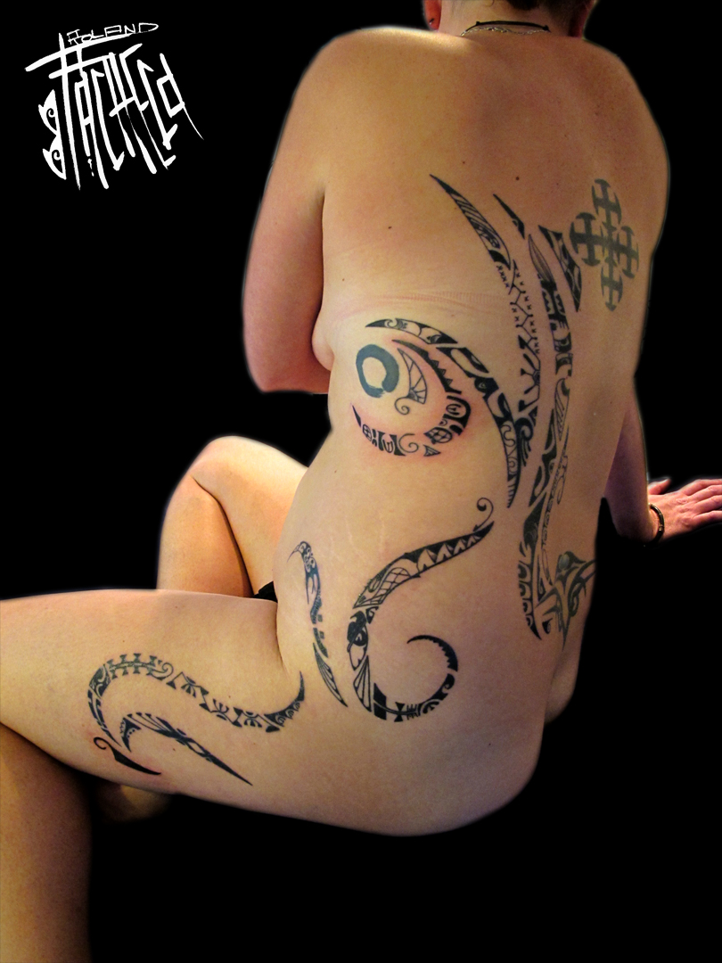 Marquesan and anaole mash up living in lava land here is the breakdown of the semiotics or symbols used to create this tattoo it is important to note that when a symbol has been repeated as is typical of biocorpaavc Image collections