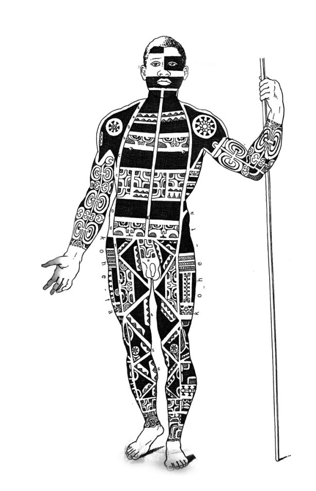 theory of polynesian tattoo as armor living in lava land