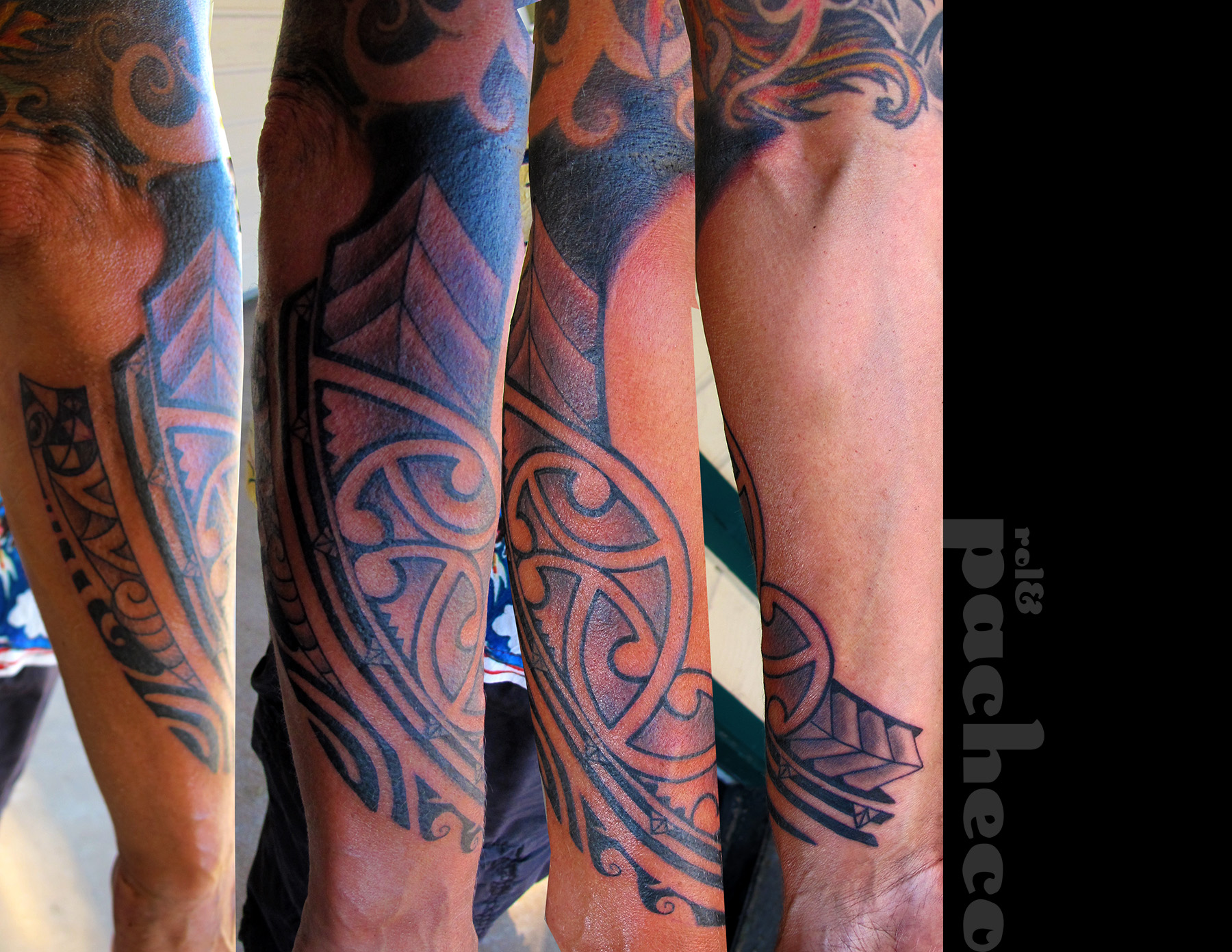 Maori Tattoo Living In Lava Land Page 2