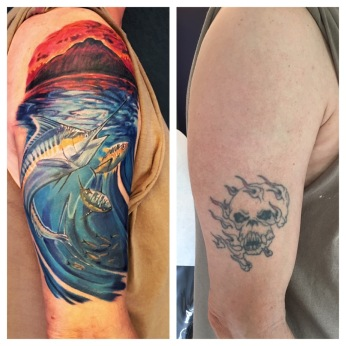 marlin cover up